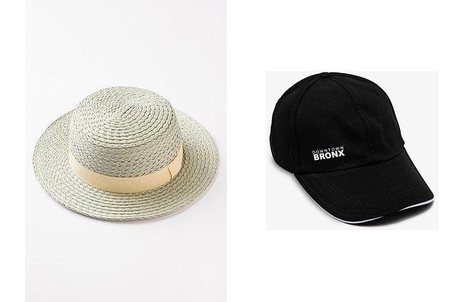 15. Ve işte tarzına tarz katan hem de başına güneş geçme ihtimalini azaltan harika bir şapka:
