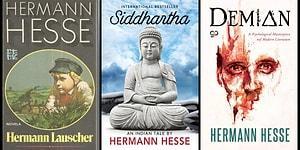 """Ülkemizde Daha Çok """"Siddhartha"""" Adlı Başyapıtı ile Tanınan Nobel Ödüllü Hermann Hesse'nin İnsan Yaşamını İrdeleyen 16 Kitabı"""