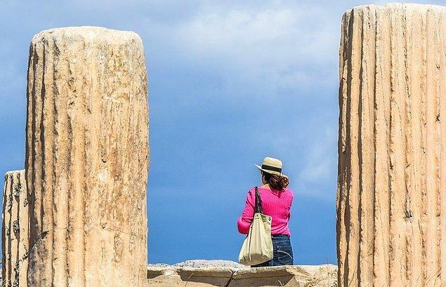Yunanistan'ın turist kabul ettiği 29 ülkenin listesi:
