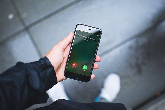 10. Birini ararken telefonu çaldırma sayısına dikkat edin. Kişi duyacaksa zaten ilk üç çalışta duymuştur.