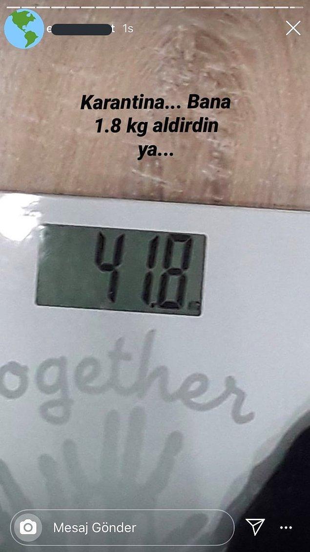7. 40 kilo olmakla övünen var mı cidden?