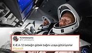 SpaceX'in İkinci Denemede Başarılı Olan İlk İnsanlı Uçuşunun Ardından Sosyal Medyadan Gelen Komik Tepkiler