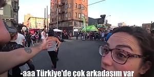 Yurt Dışında Vlog Çekerken, Türk Arkadaşları Olan Bir Turiste Denk Gelen Adama Edilen Efsane Küfür