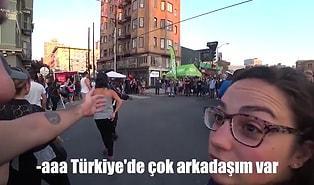 Yurt Dışında Vlog Çekerken, Türk Arkadaşları Olan Bir Turiste Denk Gelen Kadından Efsane Küfür