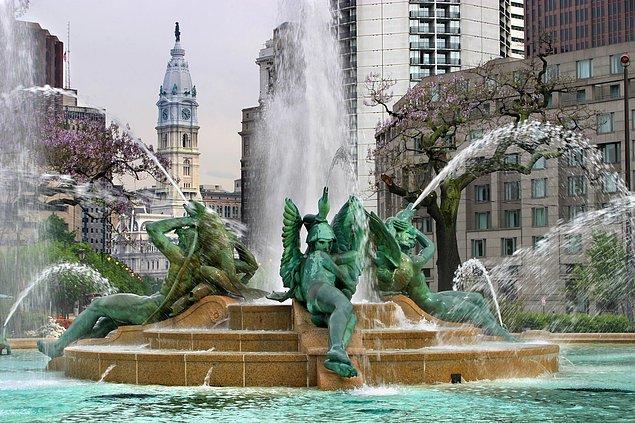 2. Swann Çeşmesi - Philadelphia