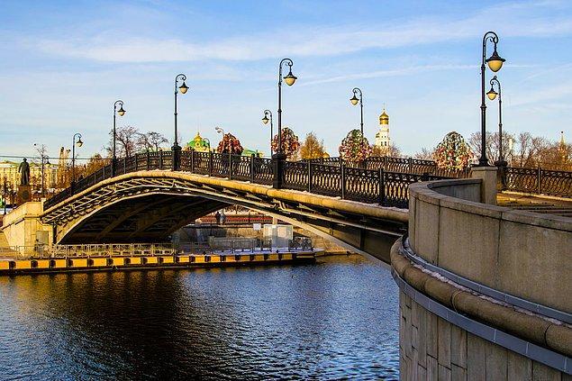 8. Lujkov Köprüsü - Moskova