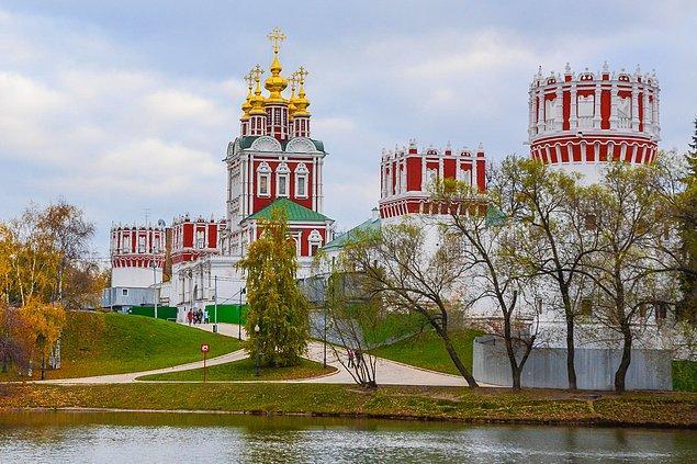 11. Novodeviçiy Manastırı - Moskova