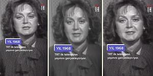 TRT, 1968 Yılında Yaptığı İlk Yayınını TikTok'ta Paylaştı