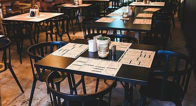 Restoran, kafe ve pastaneler yeniden açılıyor