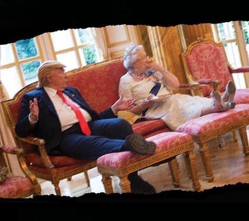 Donald Trumpa Ait Olduğu İddia Edilen Anadan Üryan Çıplak