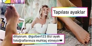 Herkeste mi Ayak Fetişi Var! Gülben Ergen, Uğruna Hesaplar Açılan Ayaklarına Gelen Övgüleri Paylaştı!