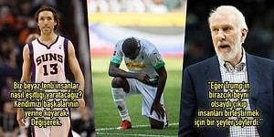 Dünyada Artan Irkçılığa ve George Floyd'un Öldürülmesine Sessiz Kalmayarak Protesto Eden Sporcular