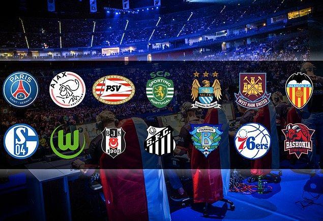 Geleneksel sporlardan bildiğimiz daha çok takım espor şubesi açacak