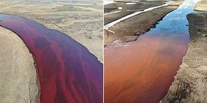 Rusya'da Termik Santraldeki Tankın Patlaması Sonucu 20.000 Ton Mazot Nehre Bulaştı, Olağanüstü Hal İlan Edildi