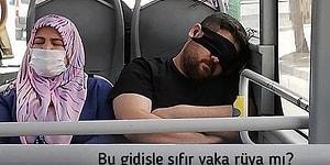 'Bu Gidişle Sıfır Vaka Rüya mı?' Notuyla Bakan Paylaşmıştı: Maskeyi Gözüne Takan Adam Kendini Savundu