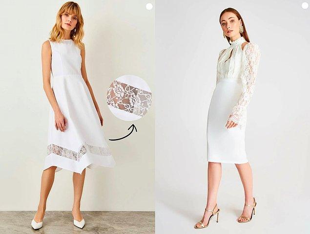 7. Nikahınız düğünden ayrı yapılacaksa uygun fiyatlı elbiseler sizi bekliyor.