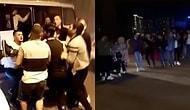 Biri Sosyal Mesafe mi Dedi? İstanbul'da Halaylı, Meşaleli, Driftli Asker Uğurlaması