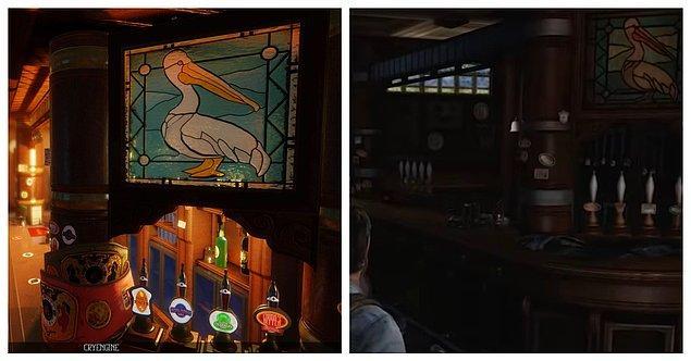 5. The Last of Us - Uncharted 3'teki Bar