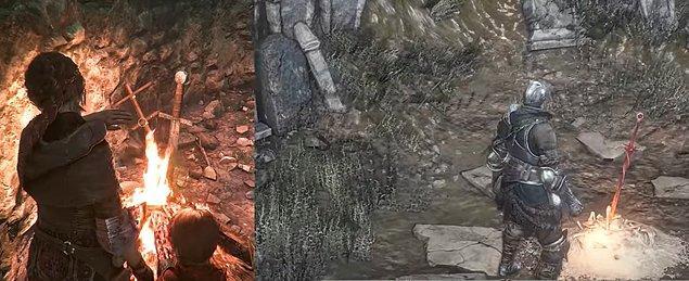11. A Plague Tale: Innocence - Dark Souls Göndermesi