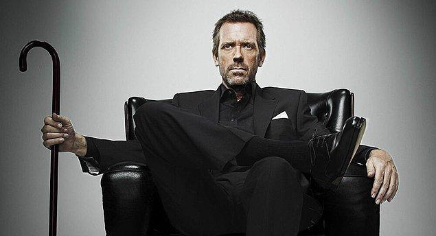6. House M.D. dizisindeki House karakterinin çıkış noktası aslında Sherlock Holmes'tür.