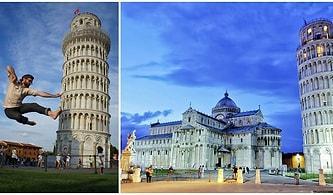 Eğri Duruşuyla Birbirinden İlginç Fotoğraf Karelerine Arka Plan Olmuş Pisa Kulesi'nin Hayranlık Uyandıran İnşa Öyküsü