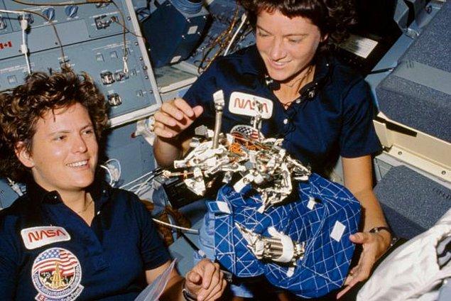 5 Ekim 1984'te Challenger ile yörüngeye yerleşen Sullivan, 6 gün sonra tarihe adını yazdırdı.