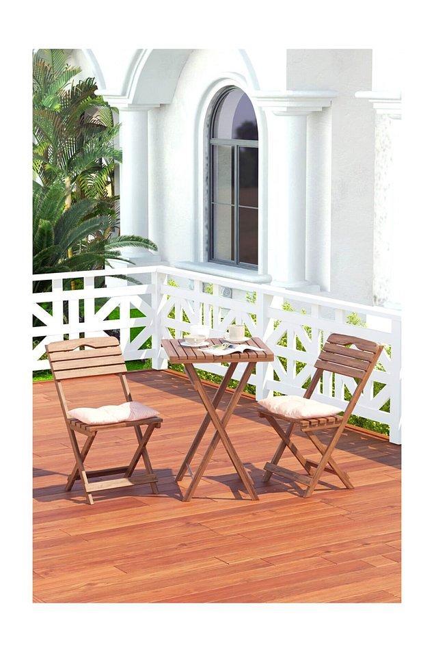 11. Eğer şanslıysanız ve küçük de olsa bir bahçeniz varsa bu mobilyalar oradan ayrılmamanızı sağlayacaktır.