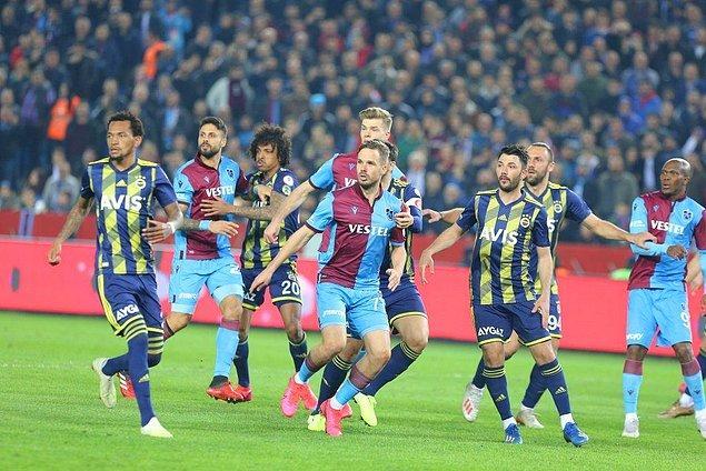 Trabzonspor, ilk maçı 2-1 kazanmasının getirdiği avantajla sahaya çıktı.