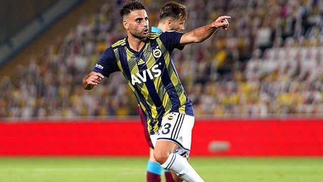 42. dakikada Deniz Türüç'ün attığı güzel golle Fenerbahçe maçta beraberliği yakaladı.