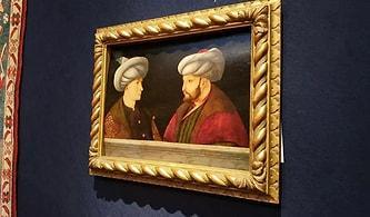 Kendi Döneminden Kalan Üç Tablodan Biri: Fatih Sultan Mehmed'in Portresi Satışa Çıkıyor