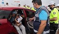 İki Yaşındaki Kızıyla Polis Çevirmesinden Kaçan, Sonrasında Kapan ile Durdurulan Kadın