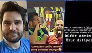 Felipe Melo'nun Göndermesine Dayanamayıp Küfreden Ceyhun Fersoy İfşa Sonunda Özür Dilemek Zorunda Kaldı
