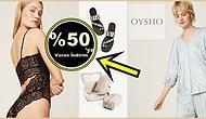 İç Çamaşırından Elbiseye, Bikiniden Sandalete: Oysho'nun Gözlerinizden Kalpler Fışkırtacak 19 Parçası