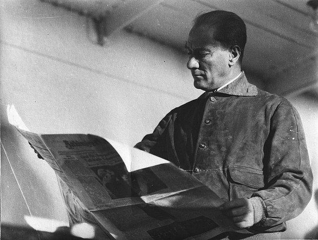 Açıklamalarına son verirken, Mustafa Kemal, 'sözlerinin istismar edilmesini' talihsizlik olarak niteler.