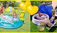 Bu Yaz Herkesin Evi Havuzlu! Evde, Balkonda, Bahçede Kullanabileceğiniz Şişme Havuzlar!