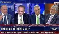 Habertürk'te Sesler Yükseldi, Ortam Gerildi: 'Milletin Gözüne Bakarak Yalan Söyleyen Gerizekalılar'
