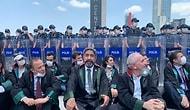 Savunma Yürüyemiyor: Ankara'ya Girişlerine İzin Verilmeyen Baro Başkanları Oturma Eylemine Başladı