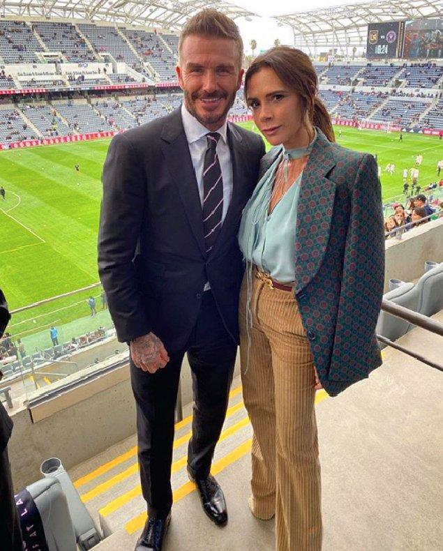 9. David Beckham & Victoria Beckham