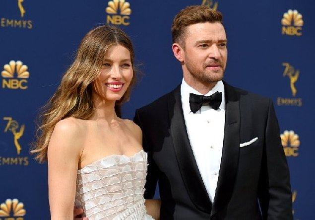 3. Jessica Biel & Justin Timberlake