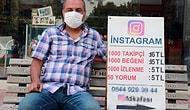 Yeni Nesil İşportacı: Adana'da Bir Kişi Sokakta Açtığı Tezgahla, Günde Binlerce Takipçi ve Beğeni Satıyor