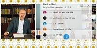 Video Konferansla Gençlerle Bir Araya Gelen Erdoğan'a 'Sandıkta Görüşürüz', 'Oy Moy Yok' Tepkisi