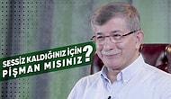 Ahmet Davutoğlu Sosyal Medyadan Gelen Soruları Cevaplıyor!