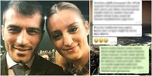 Ufuk Bayraktar'ın Eşi Merve Bayraktar, Kocasının Kendisini Aldattığını Özel Mesajlarla İfşa Etti