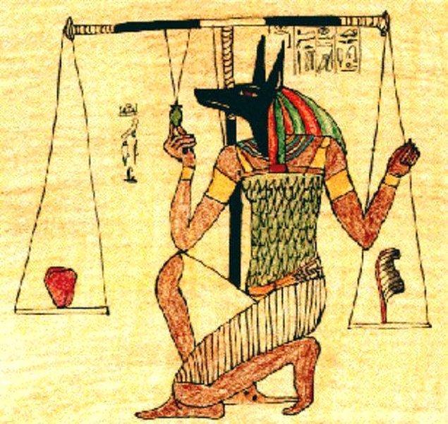 Çakal başından tanıdığımız Anubis de sıra...