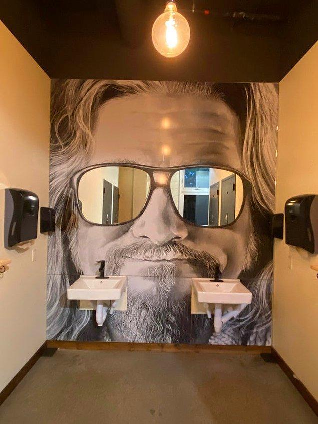 1. Güneş gözlüğü şeklinde olan dekoratif aynalar: