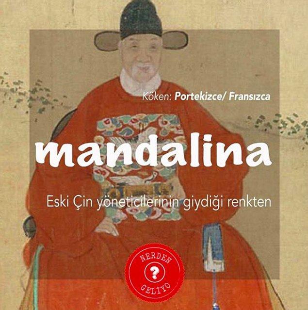 6. Mandalina