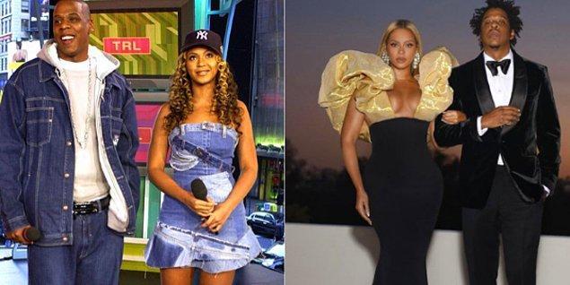 Gelelim yabancı ünlülere... 1999 yılında tanışan Beyonce ve Jay- Z çifti 2008 yılından beri de evli.