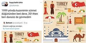 Yok Deve! Türkiye'yi Arabistan Gibi Gösteren Simgelerin Yer Aldığı Görsel Ortalığı Karıştırdı