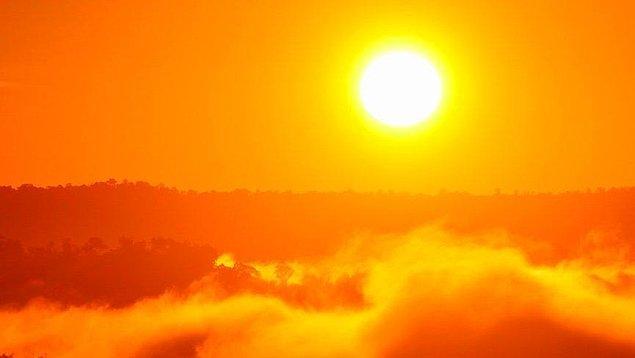 4. Dünya Güneş'e 1.3 milyon kez sığabilir.