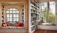 Evlerinize Çok Yakışacak Birbirinden Güzel Kitaplık Modelleri